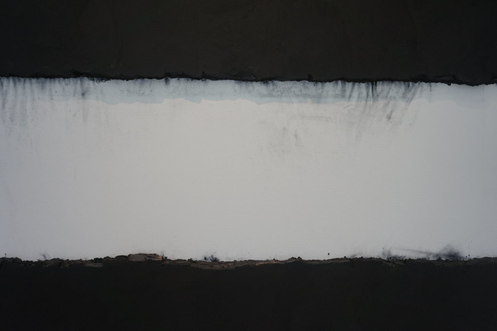 Vue de l'exposition Lee Bae, Black Mapping - Galerie Perrotin (52)