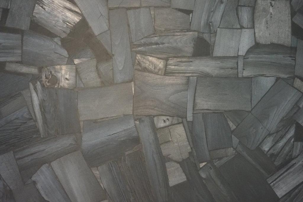 Vue de l'exposition Lee Bae, Black Mapping - Galerie Perrotin (6)