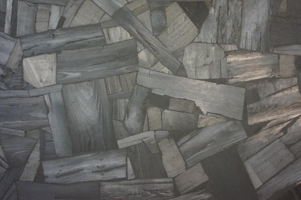 Vue de l'exposition Lee Bae, Black Mapping - Galerie Perrotin (7)