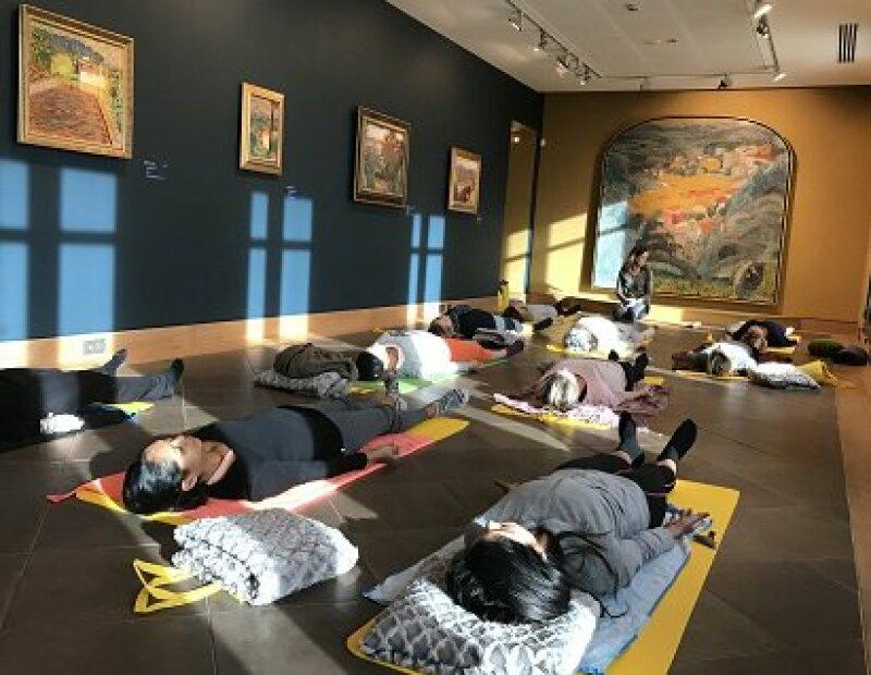 Yoga au Musée Bonnard, tous droits réservés.