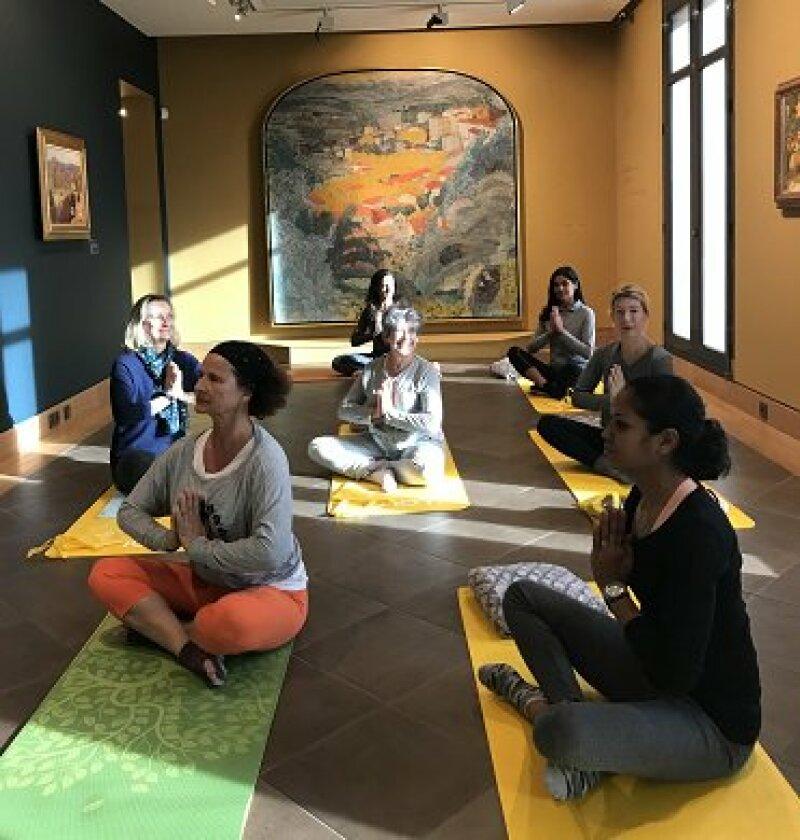 Yoga au Musée bonnard, Tous droits réservés
