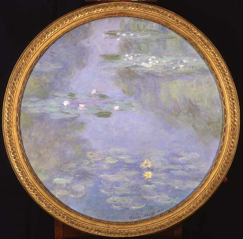 Claude Monet Nymphéas, 1908