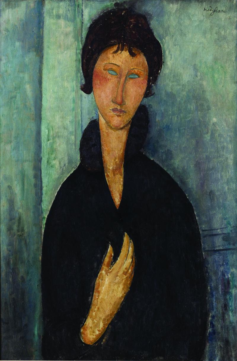 Amedeo Modigliani (1884-1920).