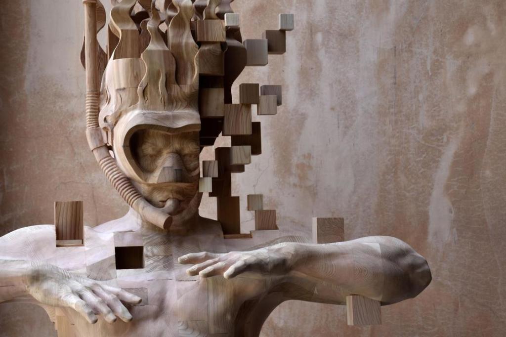 02. Sculpture Glitch - Hsu Tung Han
