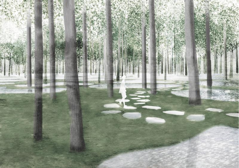 03. Art Biofarm - Perspective view.