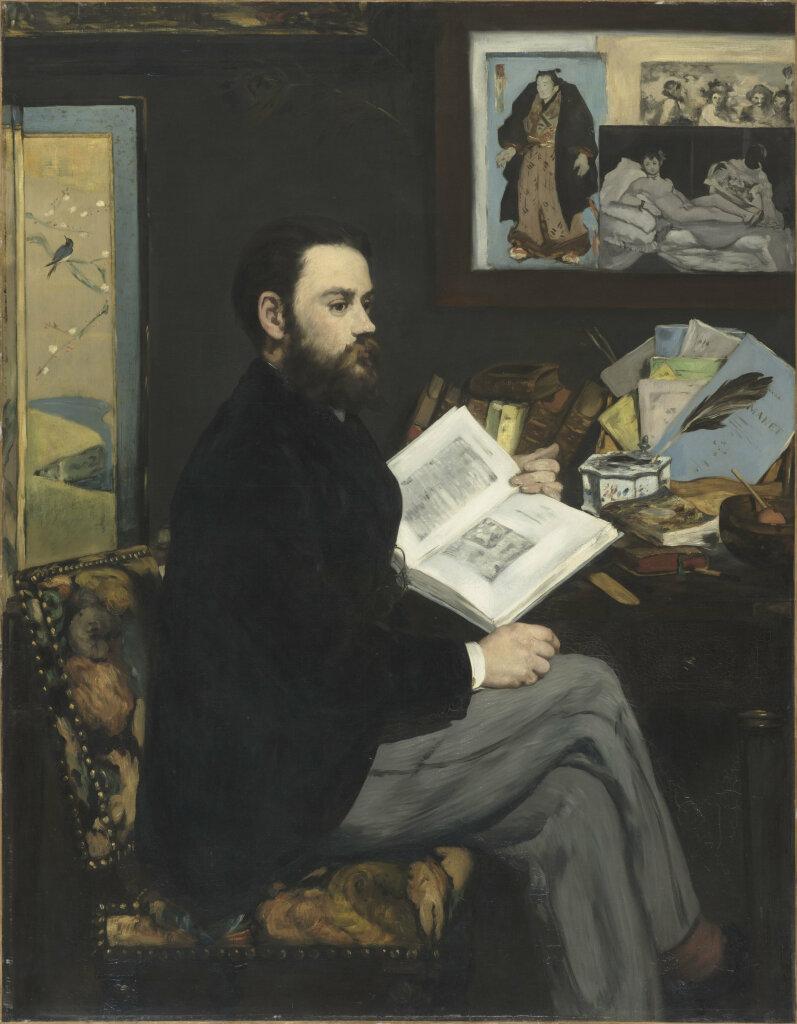Édouard Manet Portrait d'Émile Zola, 1868