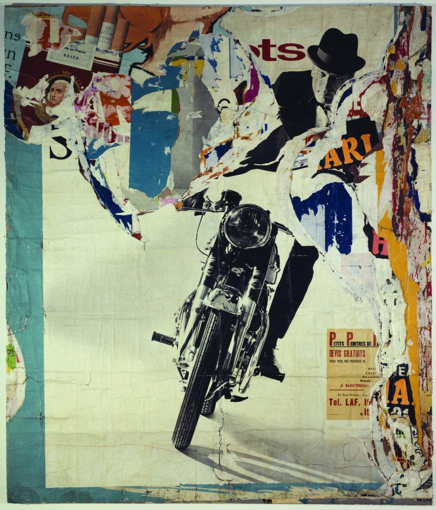 Moto, avenue Ledru-Rollin, 19 mars 1965