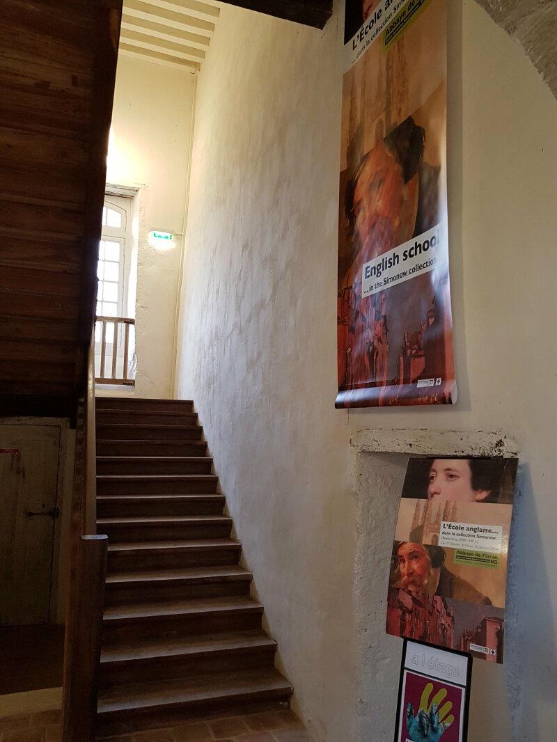 Vue de l'exposition Simonow