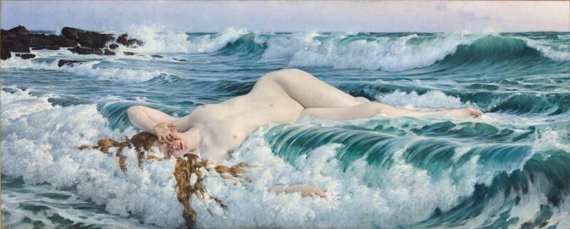 Adolf HIRÉMY-HIRSCHL, Aphroditevers 1893, © Florian Kleinefenn