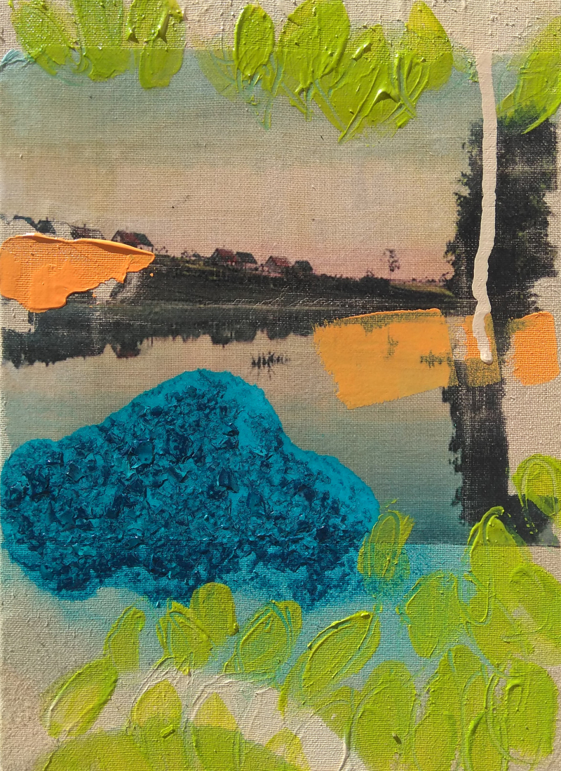 ALG gallery Alba Escayo, Postcard from Gerogia IX, 2017