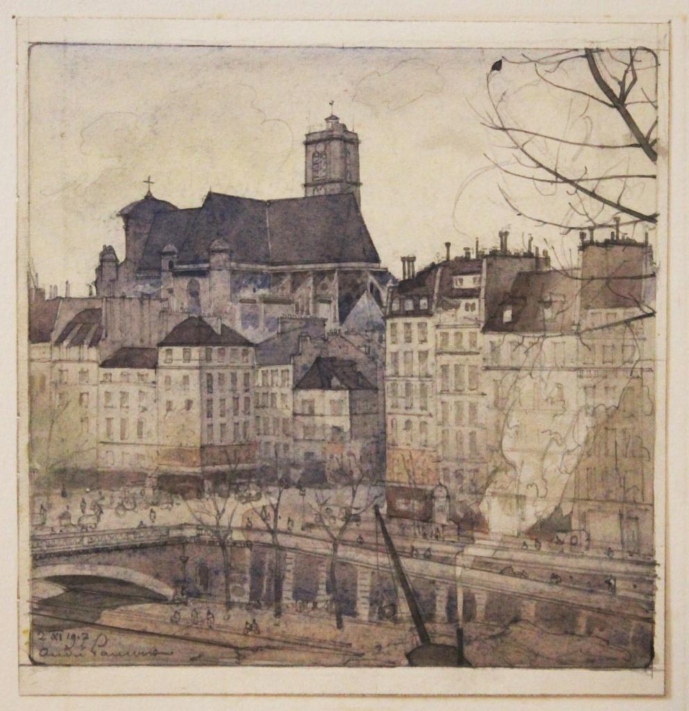 André LAMBERT Ce qui reste du Vieux paris. L'île St Louis. paris, A l'Enseigne du masque d_or, chez Devambez, 1920. LIBRAIRIE SUR LE FIL DE PARIS