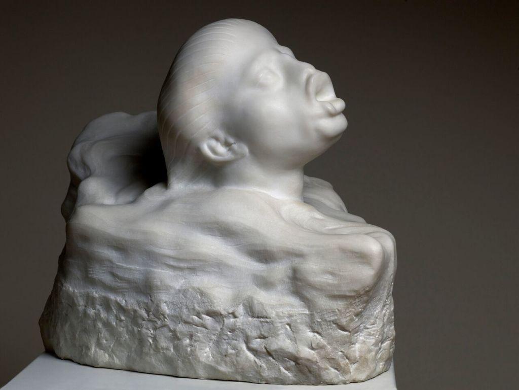 Auguste RODIN, Femme poisson, 1915 © musée Rodin - photo Christian Baraja