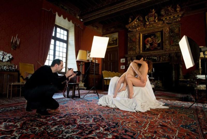 Le baiser de Rodin et Lislette