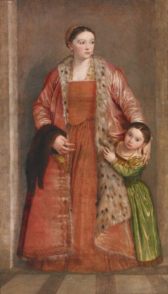 Baltimore, Walters Art_Paolo Veronese, Countess Livia da Porto Thiene