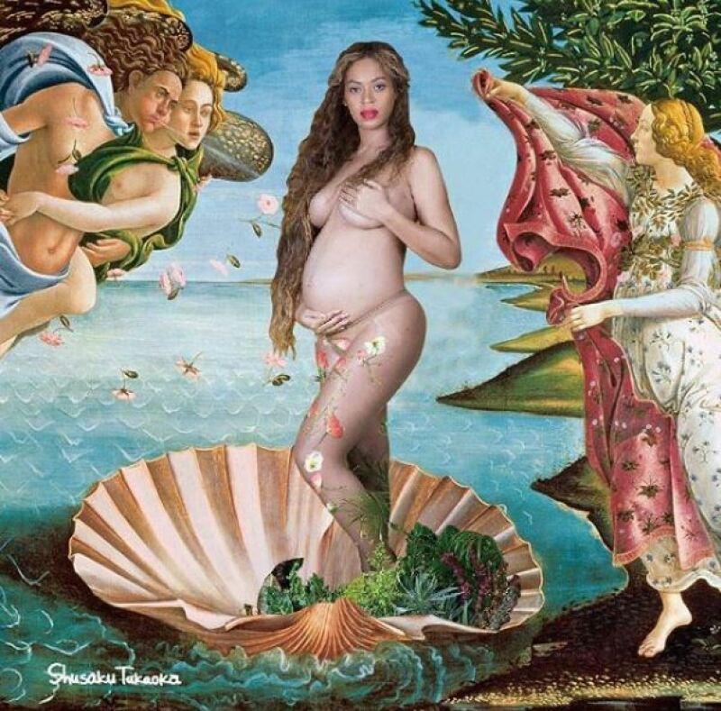 Vénus de Sandro Botticelli - Beyoncé