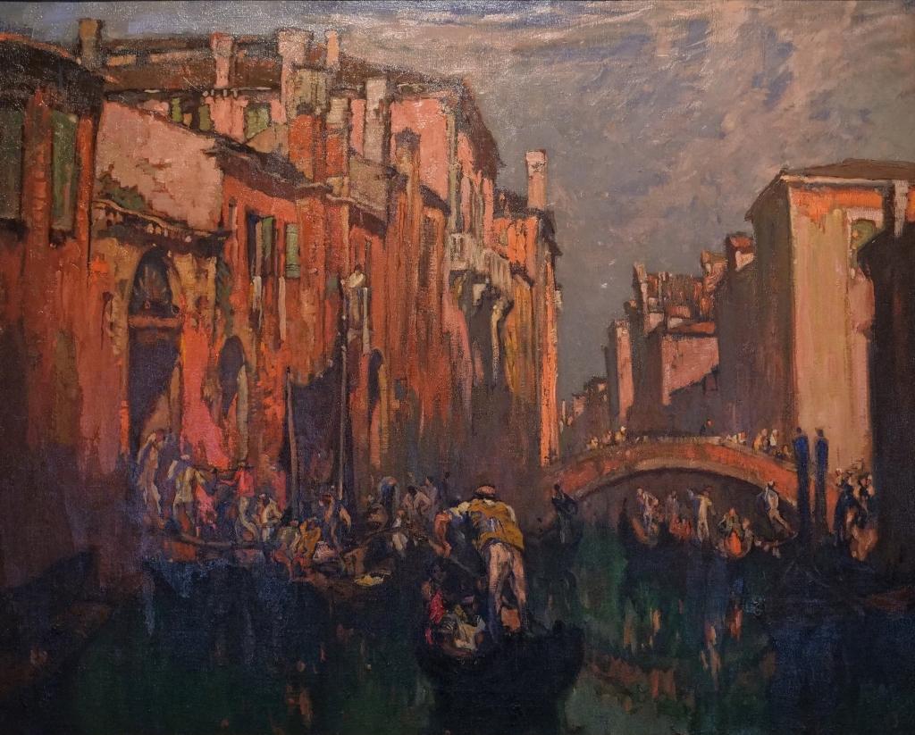 Abbaye de Flaran - Brangwyn, Vue de Venise