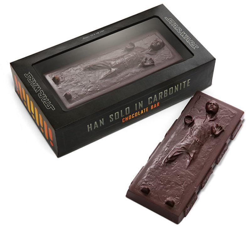 Carbonite Han Solo chocolat