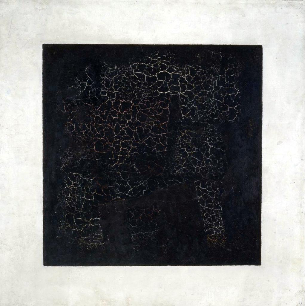 carré noir suprématiste, malévitch, 1915