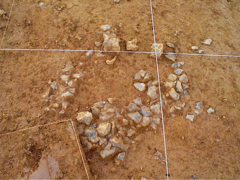 Carroyage du site archéologique de « La Folie »