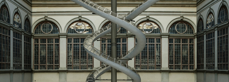 Carsten Höller, The Florence experiment, 2018 © Palazzo Strozzi