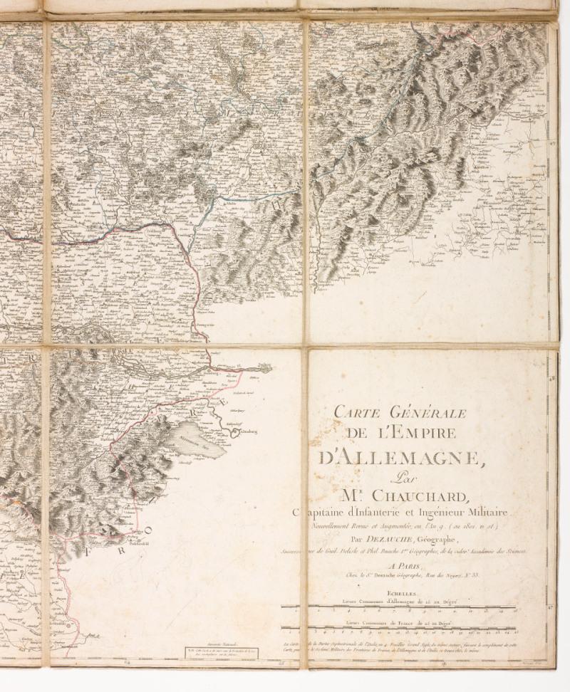 Carte générale d'Allemagne, 1801
