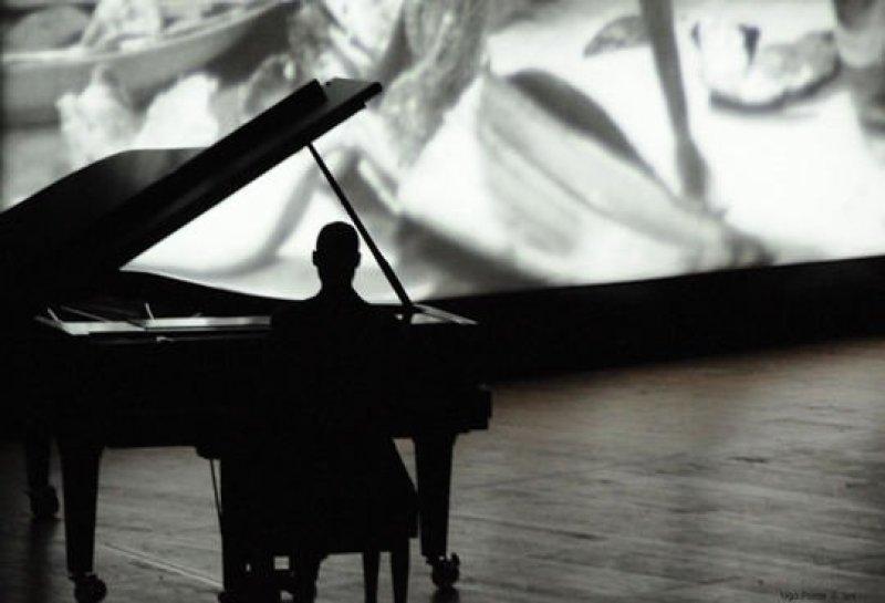Elvira Falque, Ciné concert au Musée d'Art contemporain de Lyon