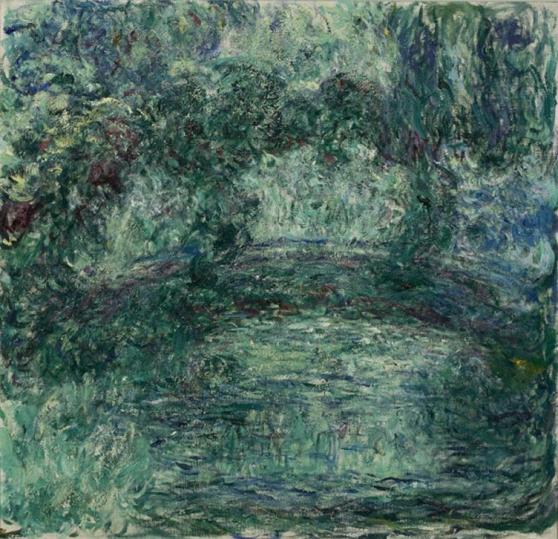 2 - Claude Monet, Pont japonais, 1924