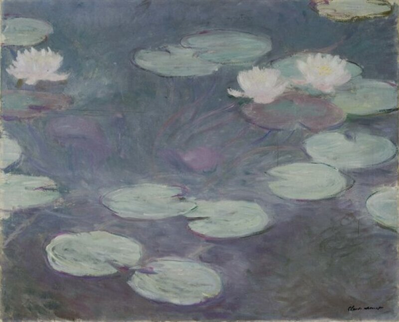 Claude Monet - Waterlilies 1897 - 1899