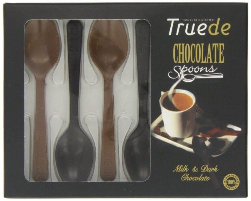 Cuillère en chocolat