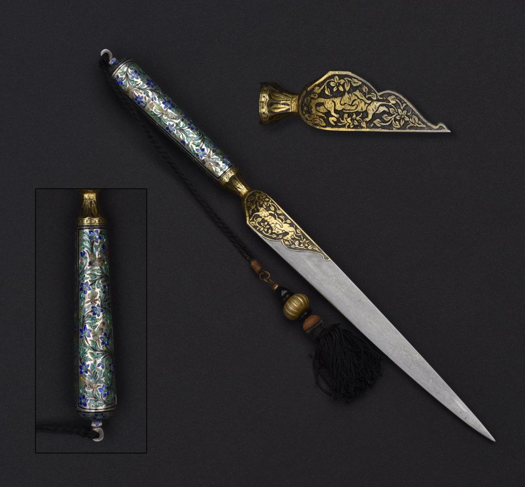dague dite Kard, inde XIXeme siecle, virginie Lasala, experte en armes anciennes