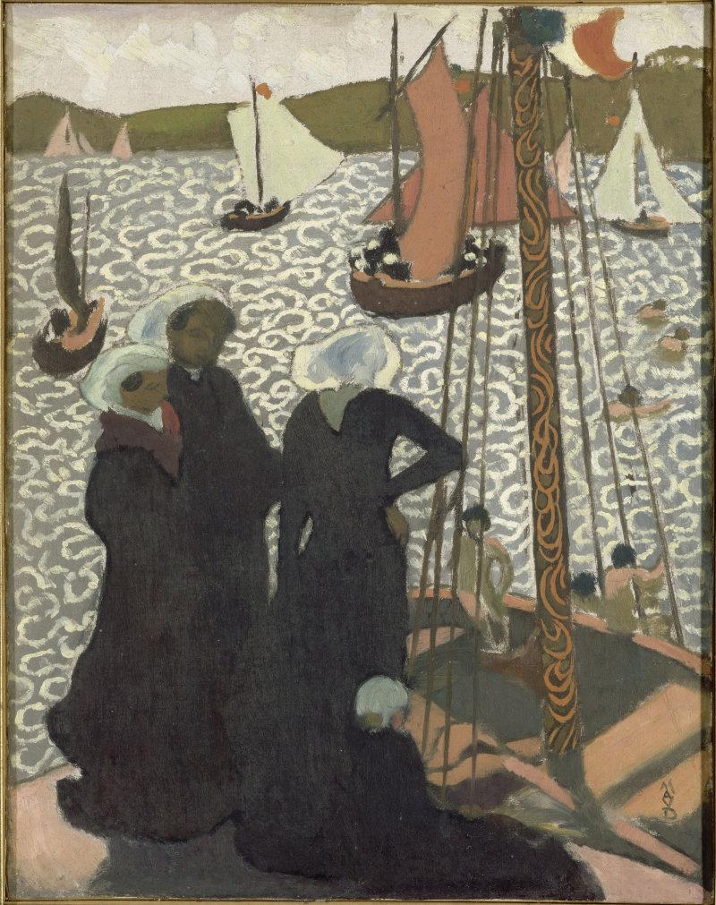 Maurice Denis Régates à Perros-Guirec, 1892