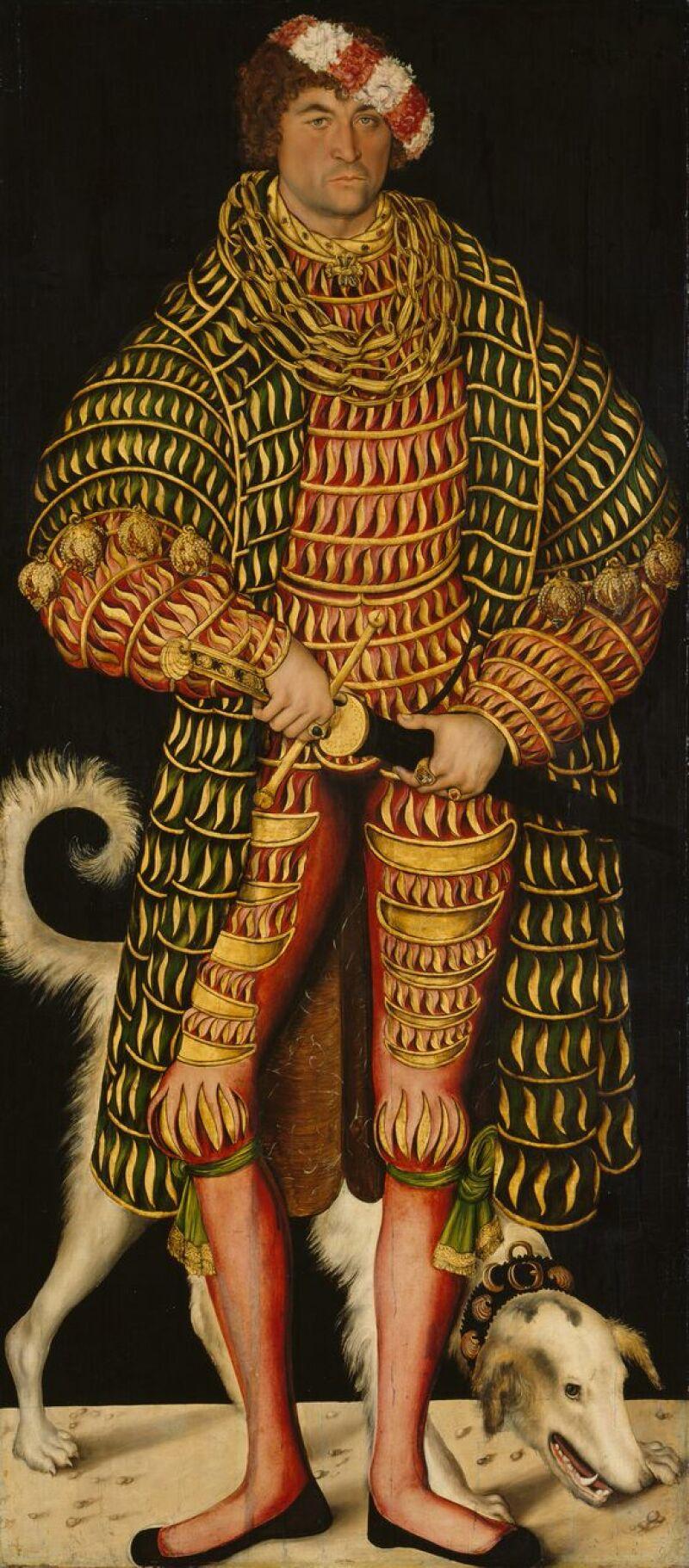 Dresden, Alte Meister_Lucas Cranach the Elder, Henry the Pious, Duke of Saxony