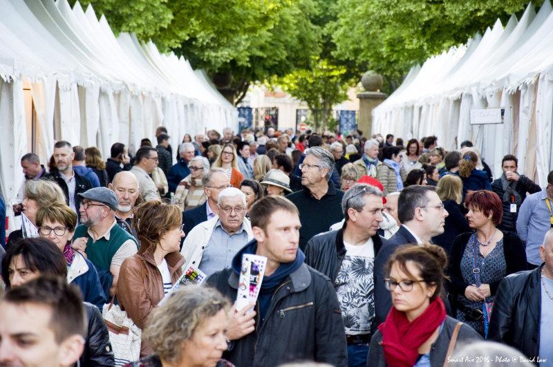 Vue du salon le Sm'art à Aix-en-Provence
