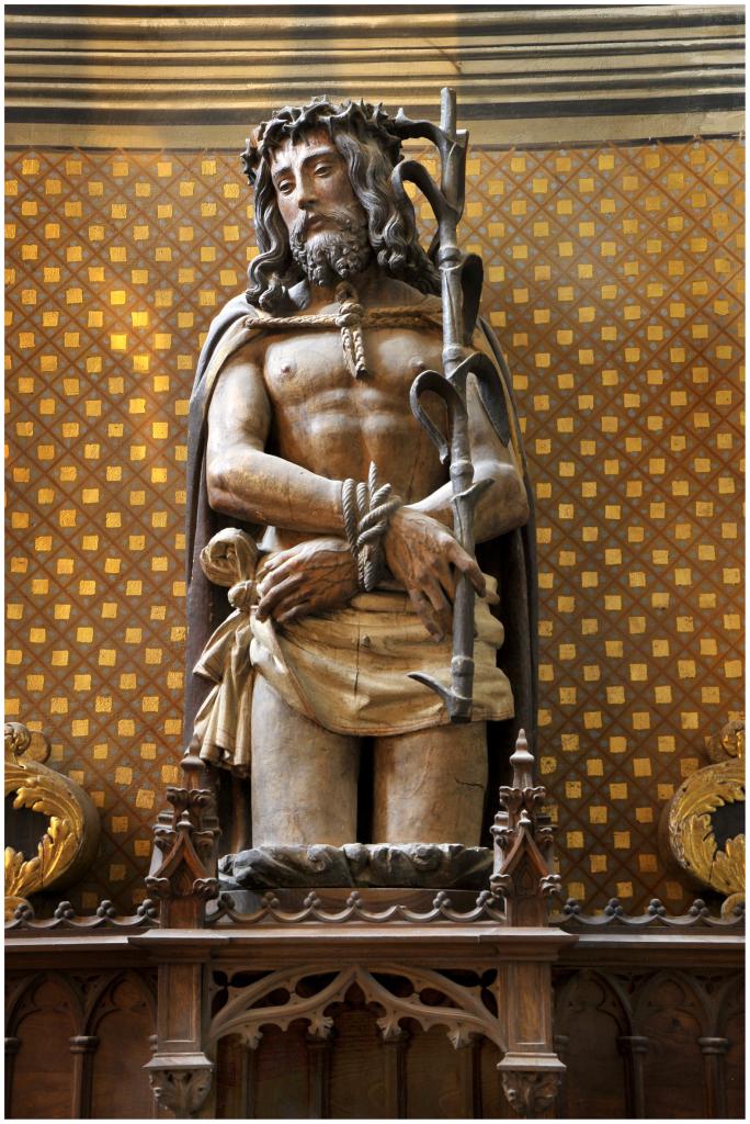 Ecce homo, début du XVIe siècle, cathédrale Sainte-Cécile, Albi