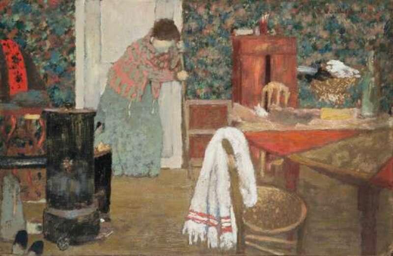 Edouard Vuillard - La Balayeuse
