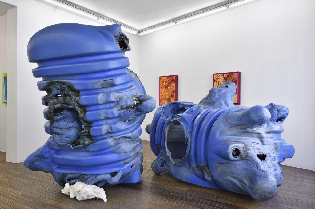 Exposition La Grosse Bleue , Anita Molinero.