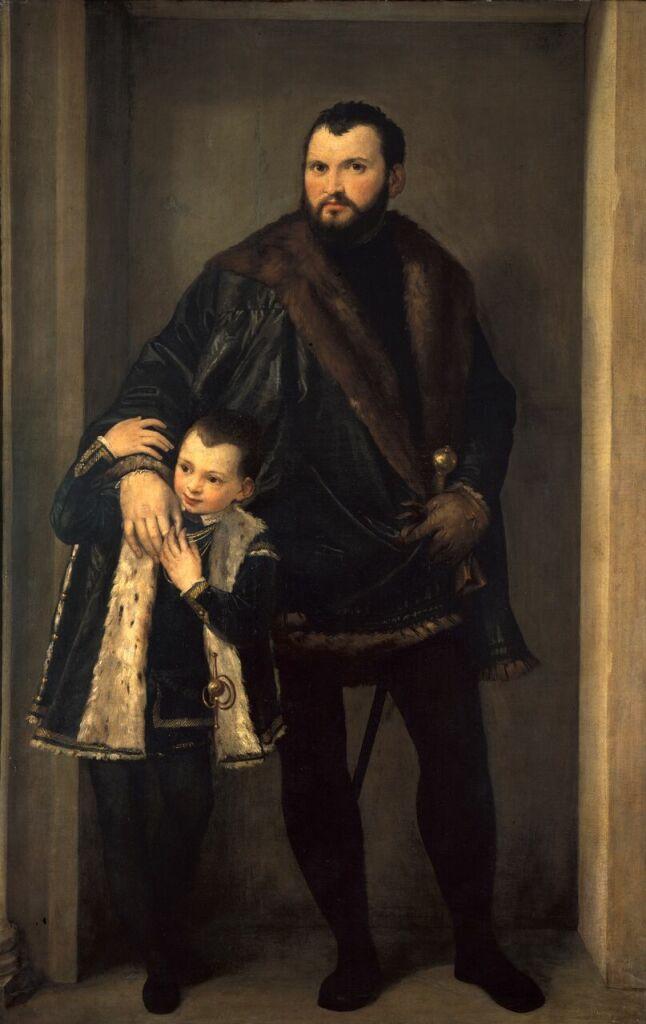 Florence, Uffizi_Paolo Veronese, Count Iseppo da Porto