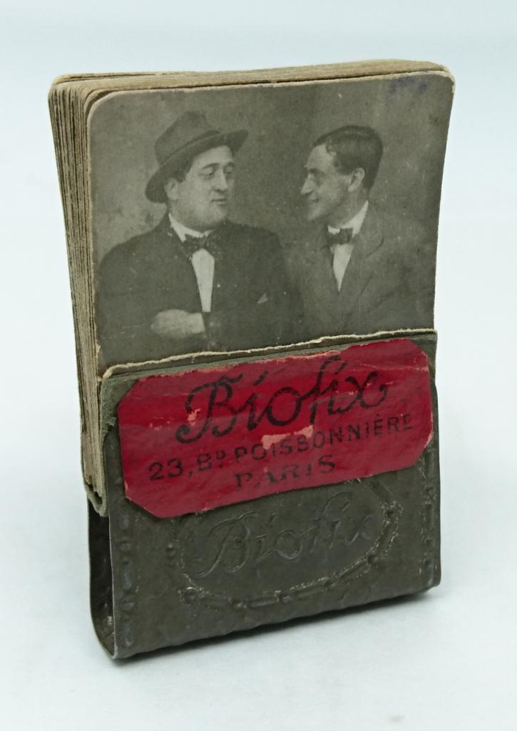 Folioscope, ou feuilletoscope. 49 photographies de Guillaume Apollinaire et AndrÇ Rouveyre . Galerie Pierre Saunier