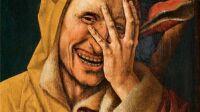 Cornelisz, Fou qui regarde à travers ses doigts, 1500 (c) Diane de Selliers