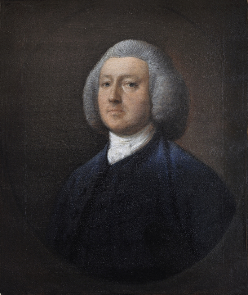 Abbaye de Flaran - Gainsborough, Portrait du Dr William Walcot