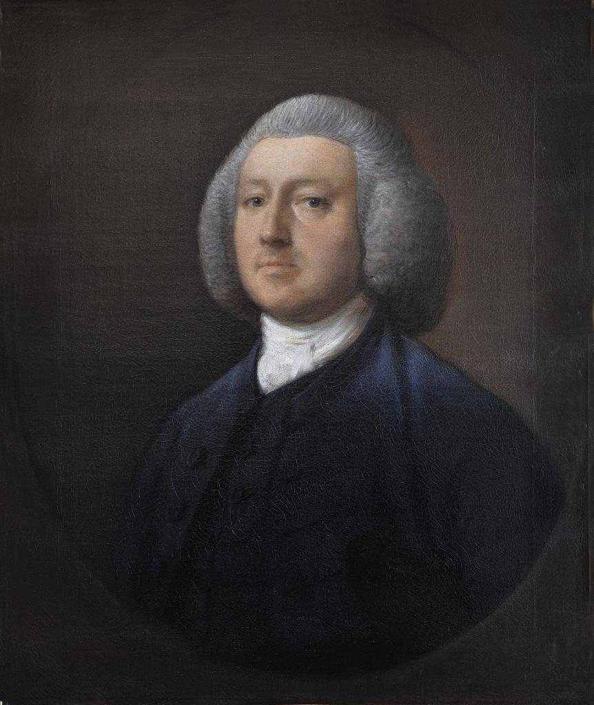Abbaye de Flaran - Gainsborough, Portrait du Dr William Walcot