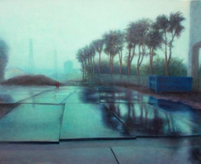 Akamoto Machio, Après la pluie