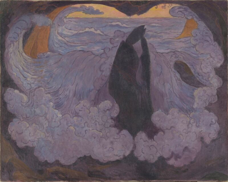 Georges LACOMBE, La Vague violette, Vers 1895 © RMN - Grand Palais