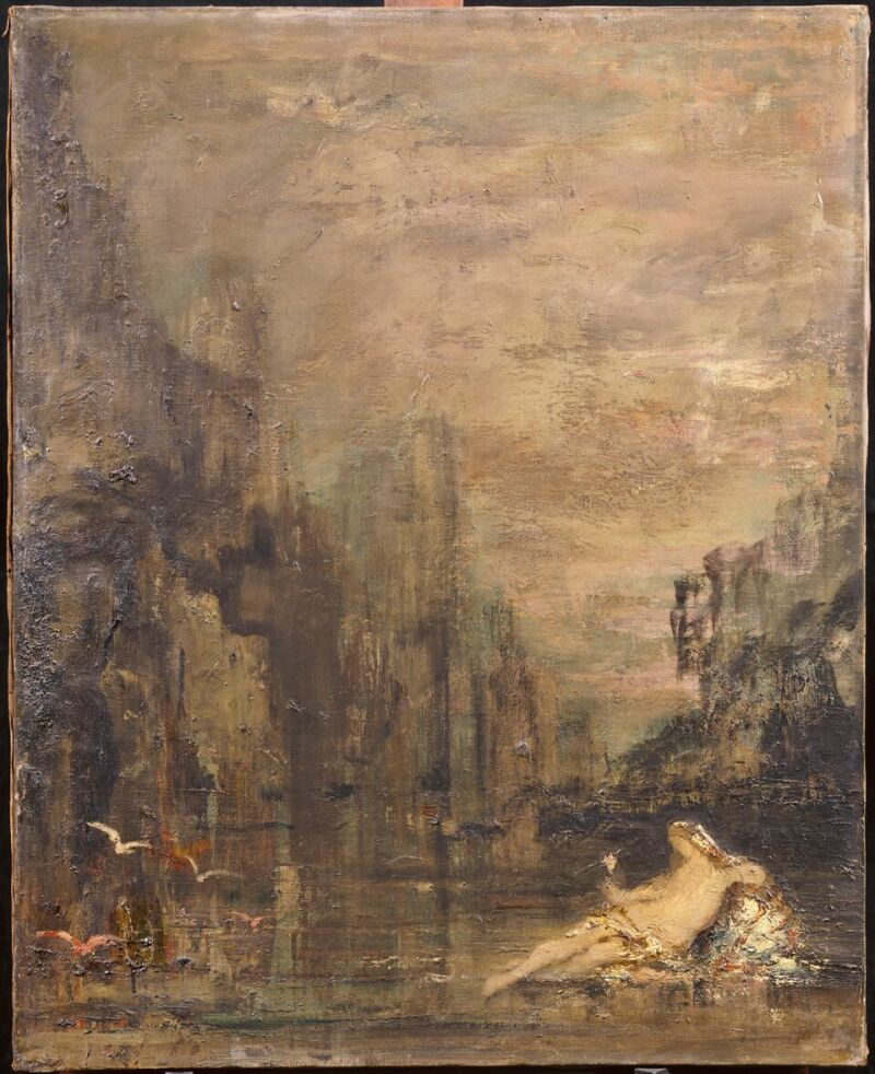 Gustave MOREAU, Fée des eaux © RMN - Grand Palais - René-Gabriel Ojéda