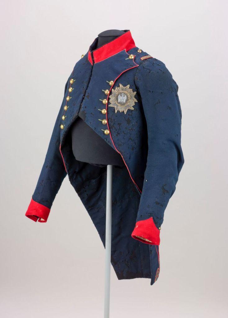 Habit de colonel des chasseurs à cheval de Napoléon 1er, Musée du Louvre