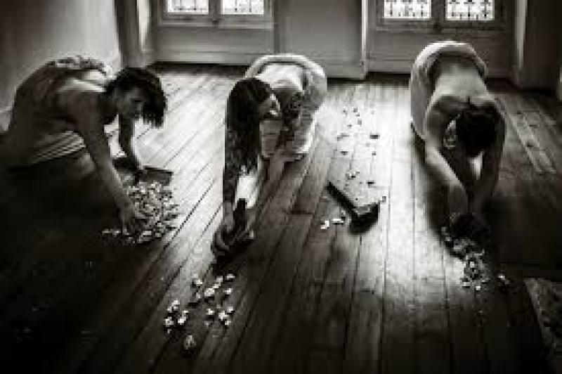 Les raboteuses de parquets de Gustave Caillebotte