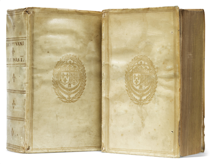 Jacques Auguste de Thou. Histoire de mon temps. Reliure de l'époque. Aux armes du roi Henri IV Librairie Amelie Sourget