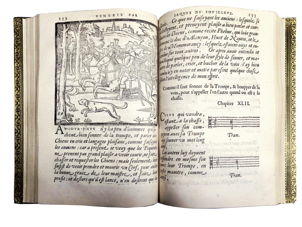 Jacques Du Fouilloux, la Vénerie ... 1566 LIBRAIRIE DE MONTBEL