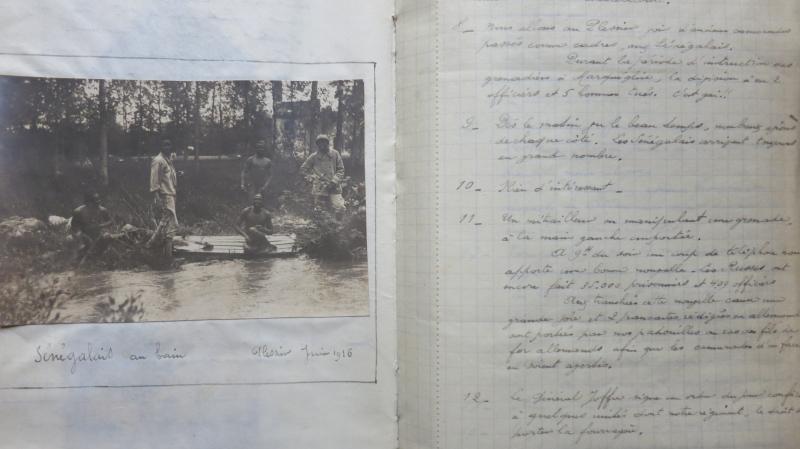 Journal (de 1914 à 1918) d'un engagé volontaire au 3ème régiment de Marche de la Légion Etrangère. PARIS LIBRIS