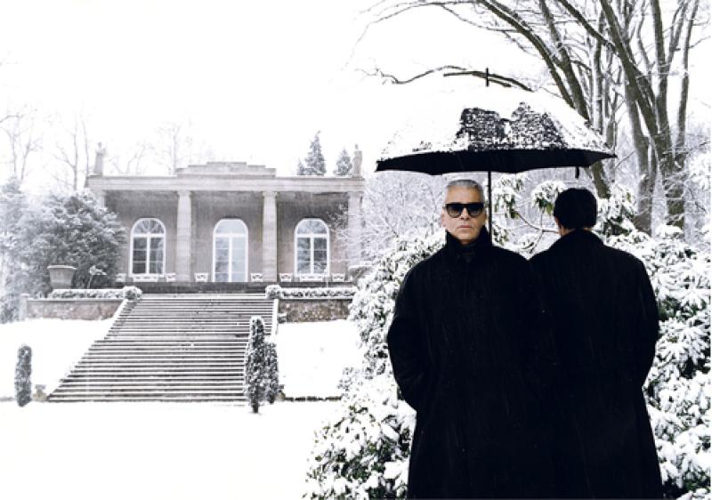 Karl Lagerfeld, Hambourg, mai 1995